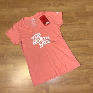NWT The North Face Ahwahnee V-Neck Tri-Blend Tee